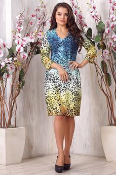 Платье с леопардовым принтом Liora со скидкой