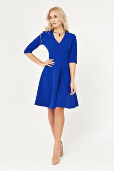 Платье цвета электрик Angela Ricci