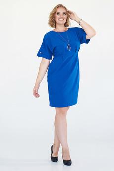 Ярко-синее платье Angela Ricci