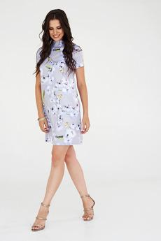 Летнее платье фиалкового цвета Angela Ricci