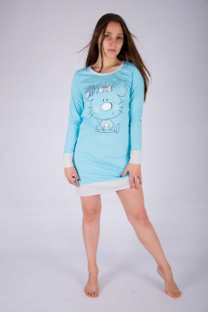 Новинка: теплая сорочка с рукавами Malina